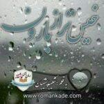 دلنوشته خیس تر از باران