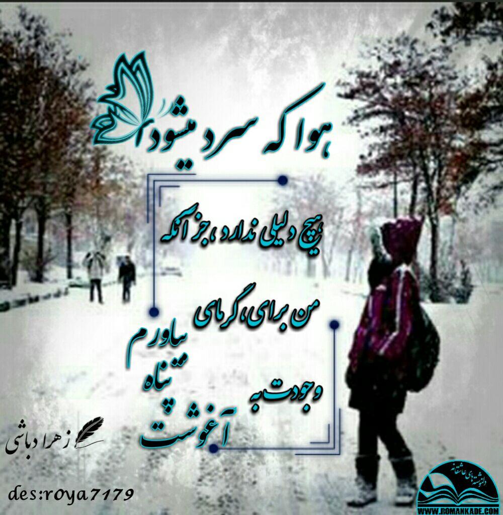 دل نوشته ی هوا که سرد می شود